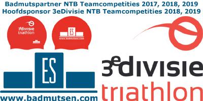 Badmutsen.com hoofdsponsor 3eDivisie NTB Teamcompetities