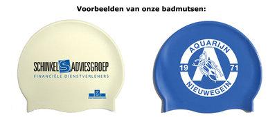 Badmutsen met opdruk bestel je bij Badmutsen.com